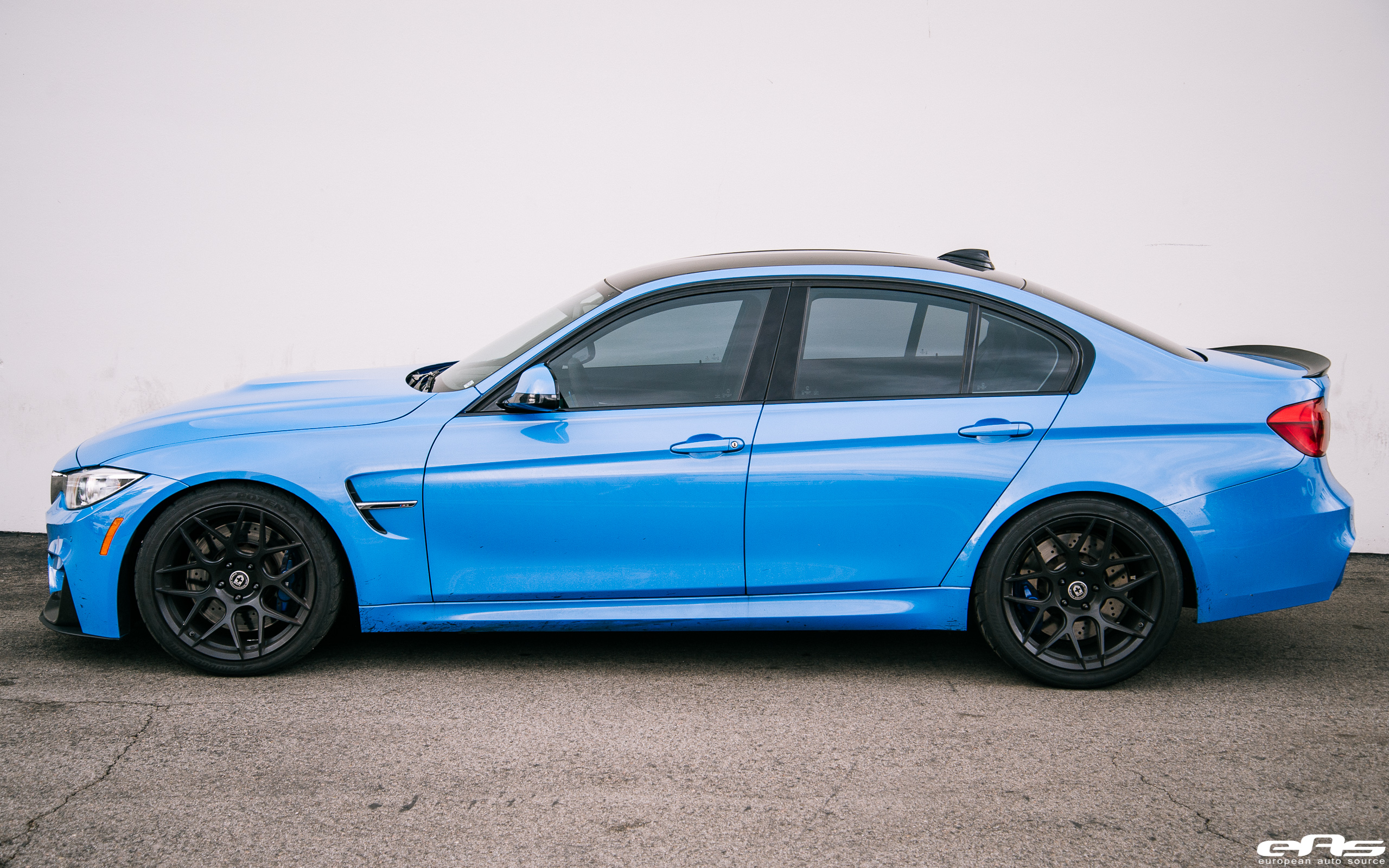 Yas Marina Blue Bmw M3 Gets Some Racing Upgrades