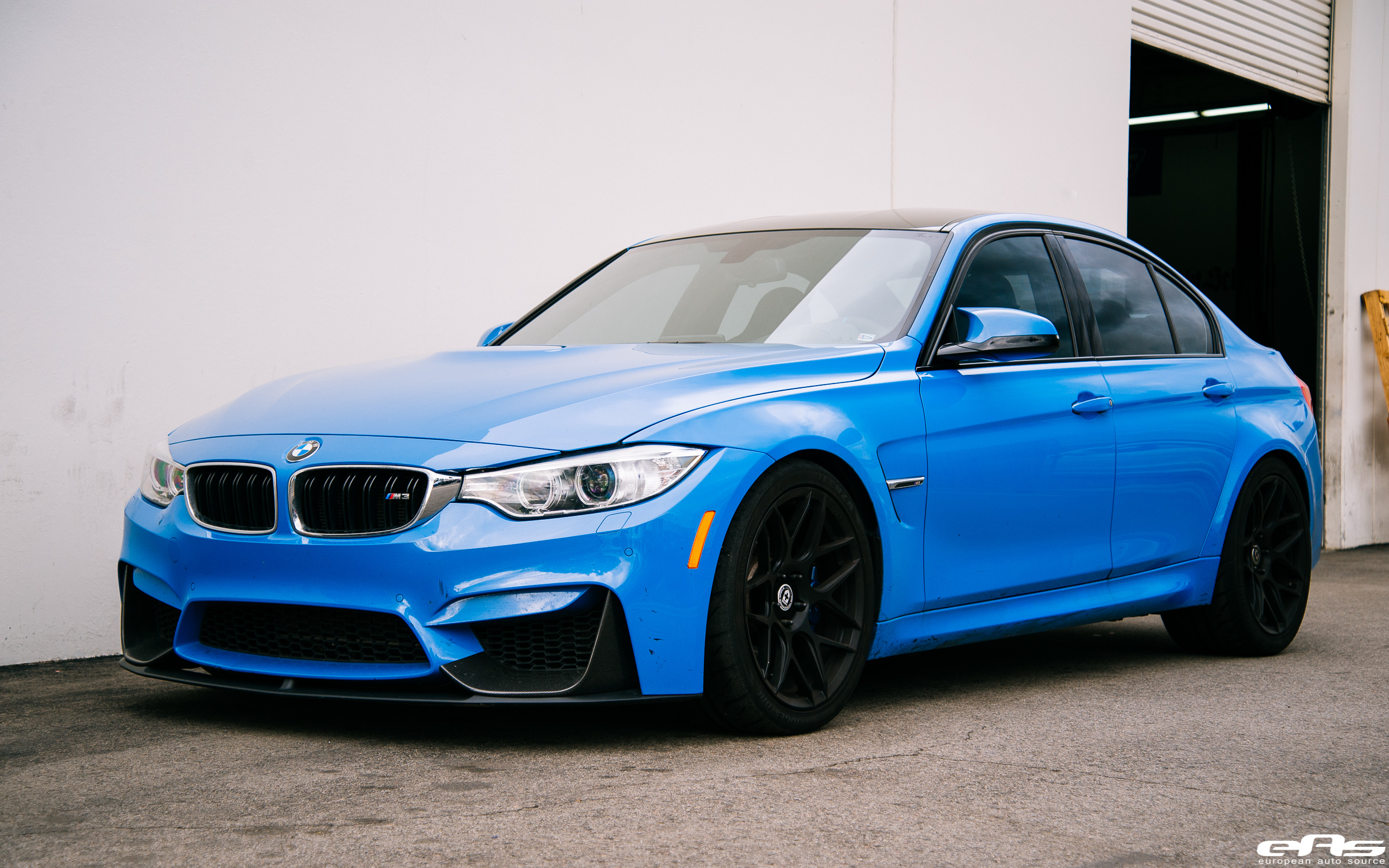 Yas Marina Blue BMW M3 Looking Clean Impressive Image 4
