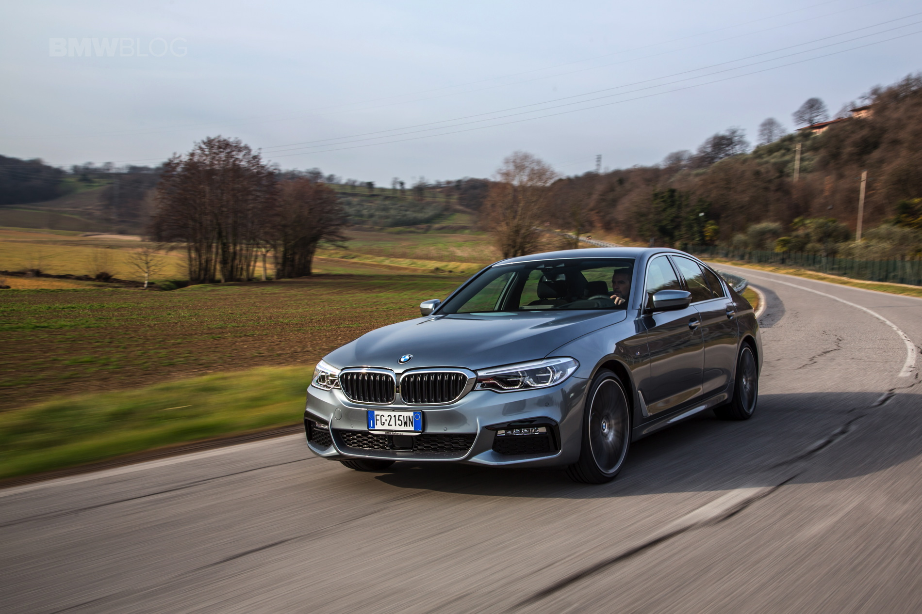 2017 BMW 5 Series Italy 01