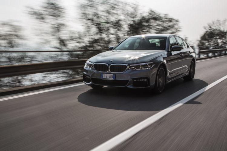 BMW 5 Series vs Mercedes E-Class va Jaguar XF vs Volvo S90