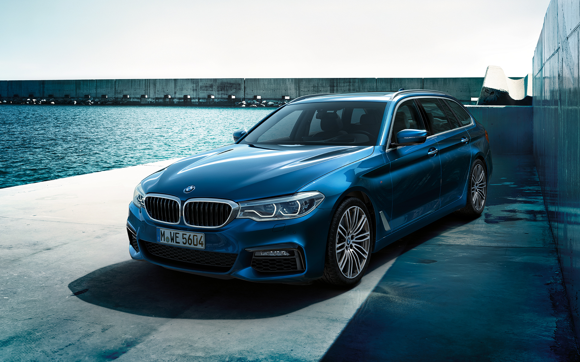 Gorgeous Wallpapers Of The New 2017 Bmw 5 Series Touring