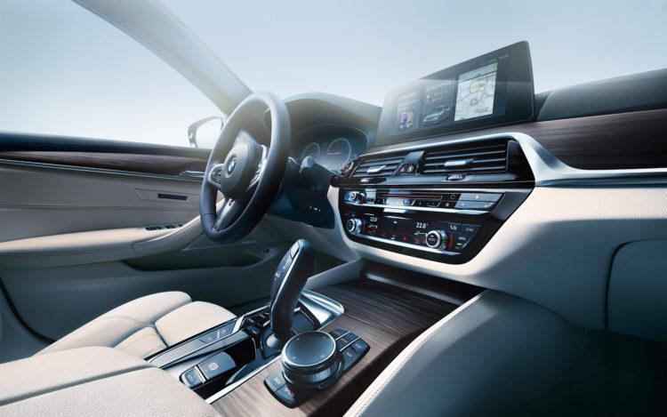 2017 BMW 5er Touring G31 Wallpaper 1920x1200 11 750x469