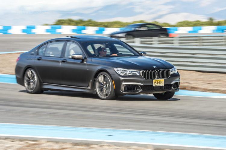 2017 BMW M760Li xDrive track drive 39 750x499