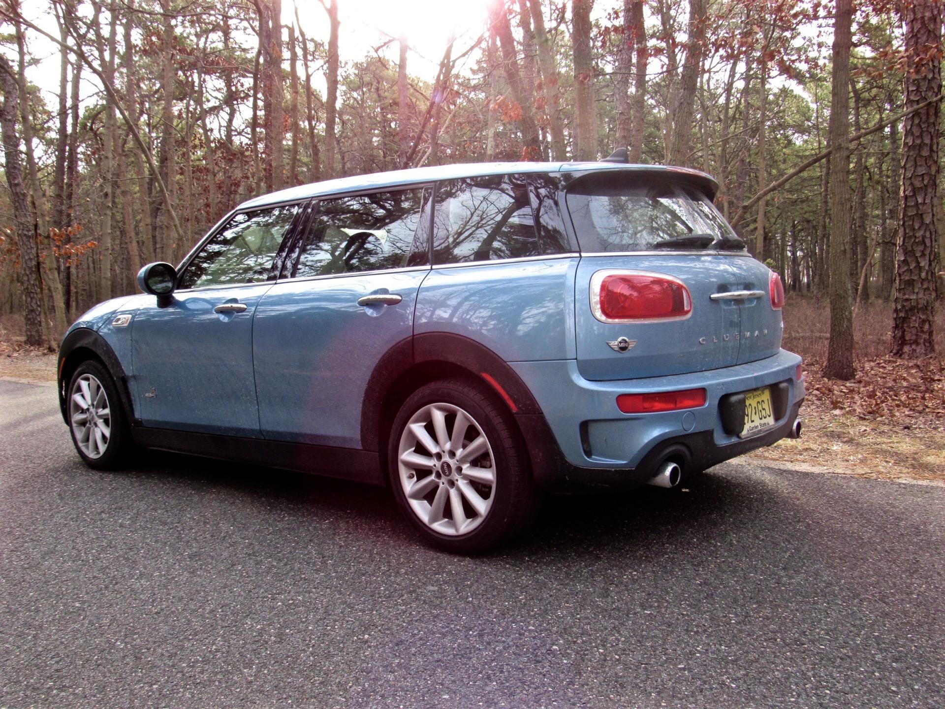 First Drive 2017 Mini Cooper S Clubman All4