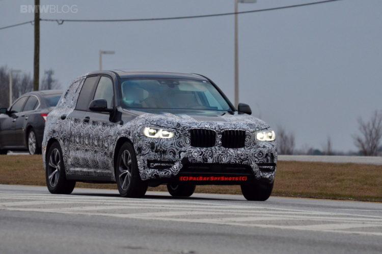 2018 BMW X3 spy photos 03 750x500