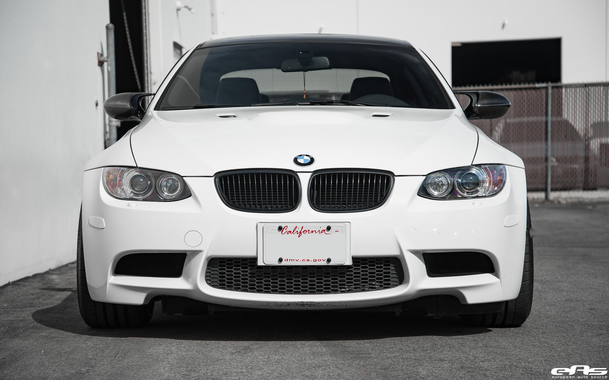 Alpine White BMW E92 M3 With Vossen VWS 3 Wheels Image 4