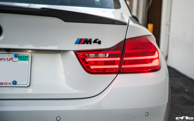 Alpine White BMW M4 Competition Gets Aftermarket Goodies 14 750x469