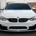 Alpine White BMW M4 With A Competition Package Gets Aftermarket Goodies