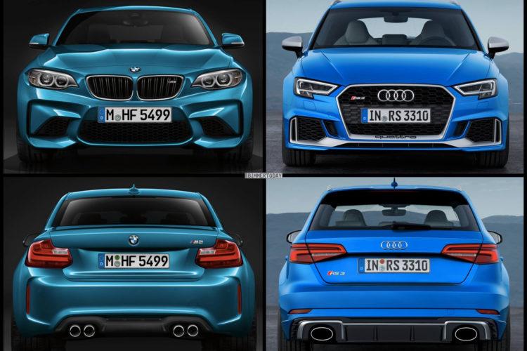 Audi RS 3 2017 BMW M2 Vergleich 03 750x500