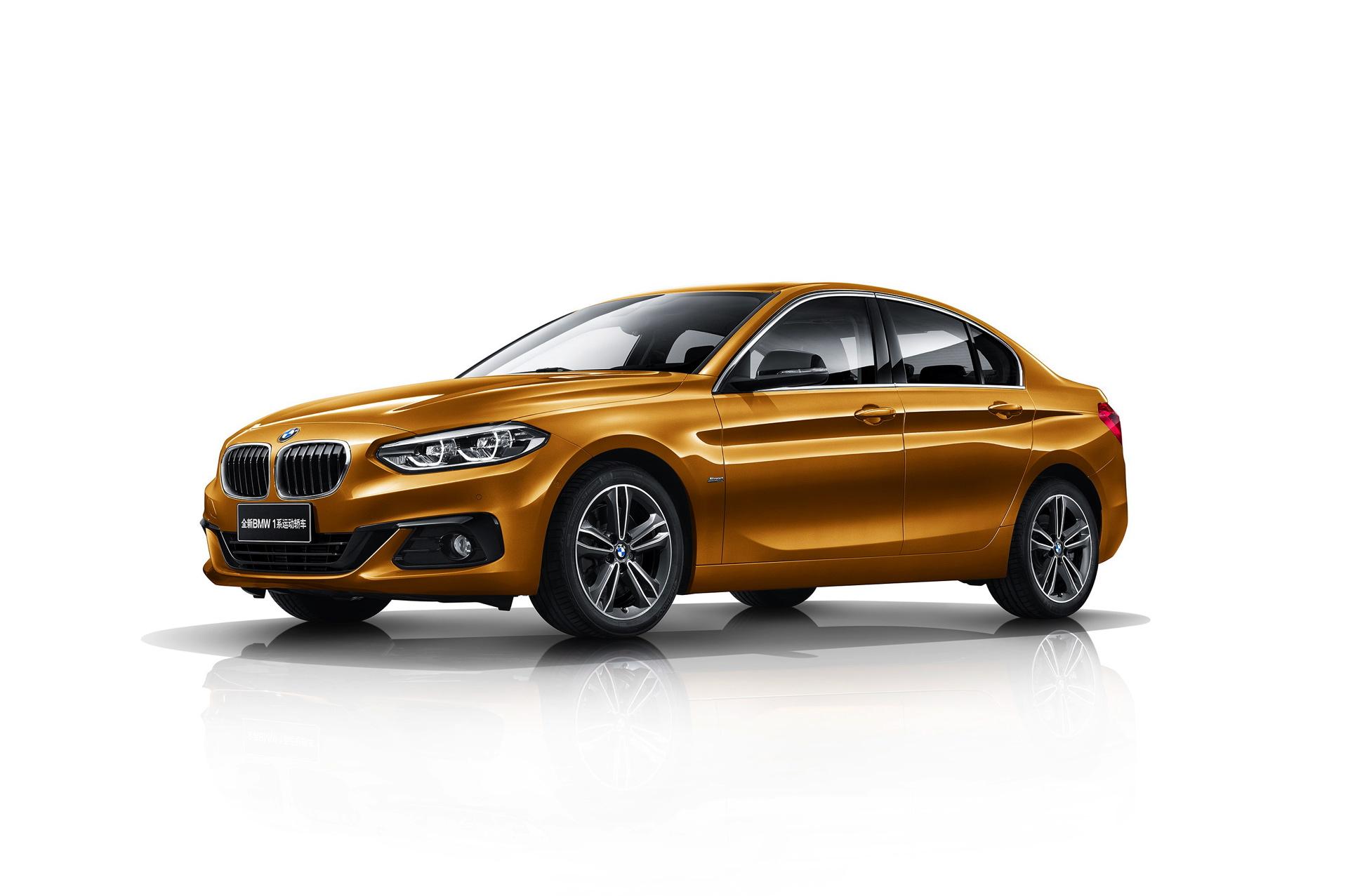 BMW 1 Series Sedan China 01