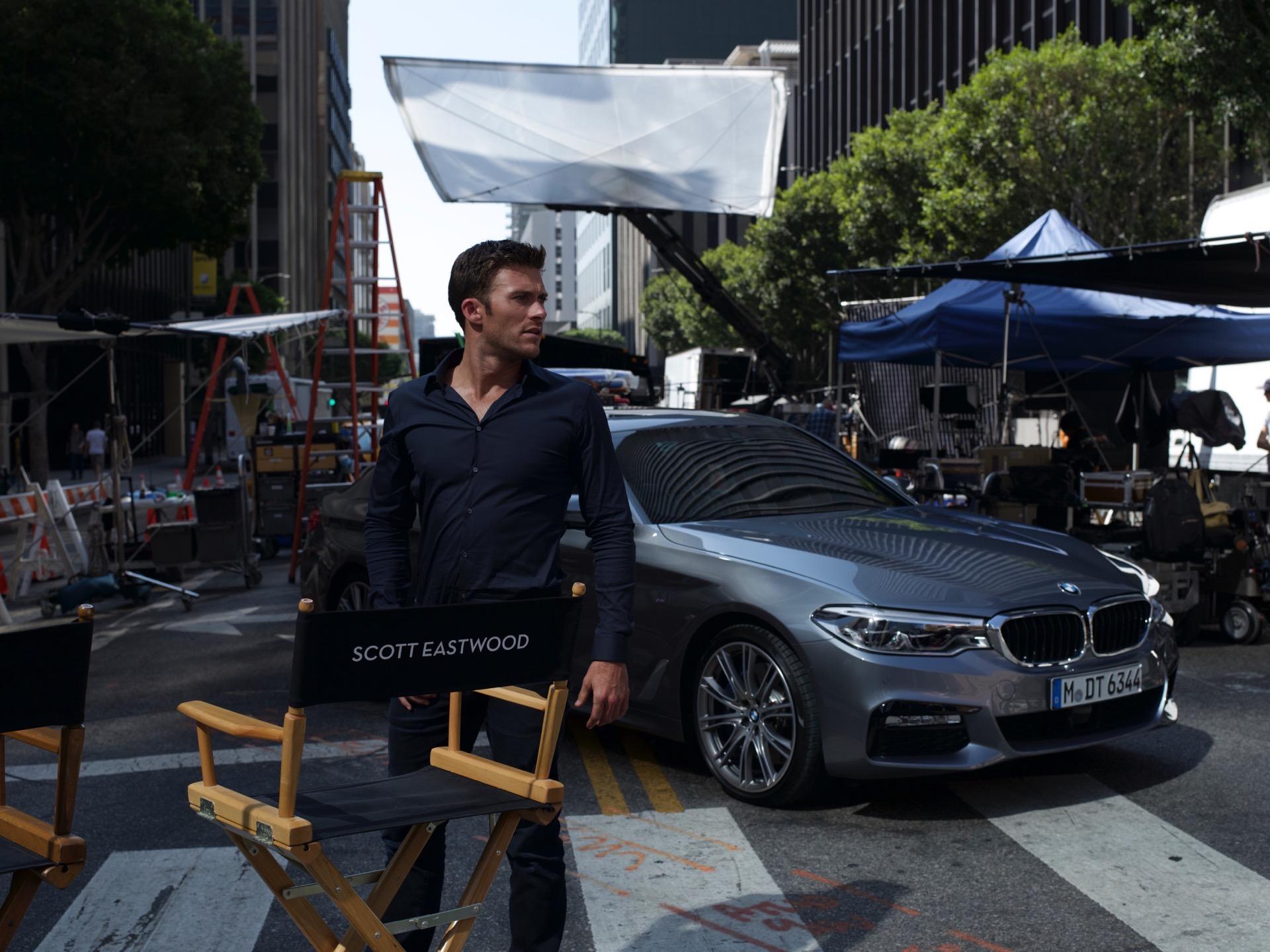 BMW 5 Series Scott Eastwood0