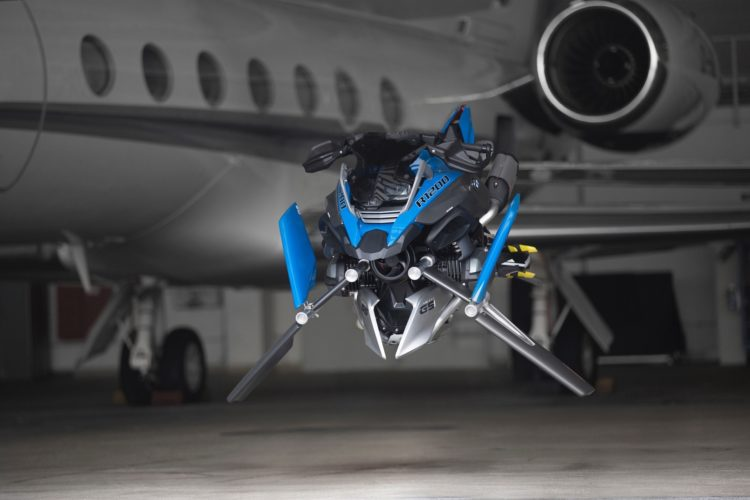 Lego Technic Bmw Hover Bike Concept Is What We Want In The