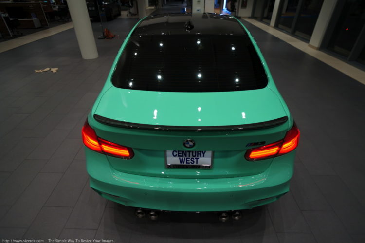 BMW M3 Mint Green 19 750x499