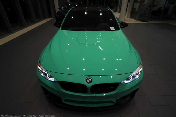 BMW M3 Mint Green 33 750x499