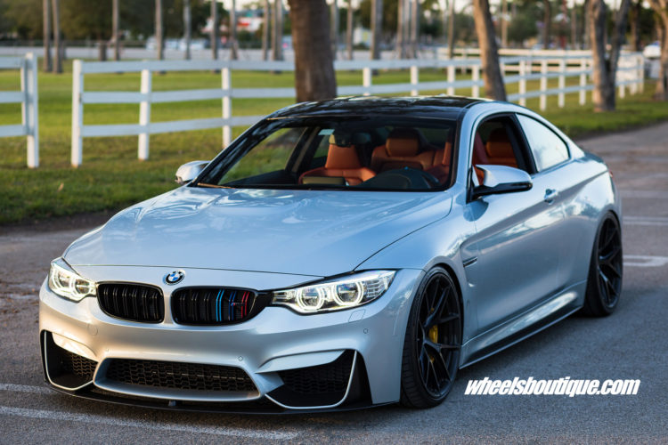 BMW M4 With HRE P101 Wheels By Wheels Boutique
