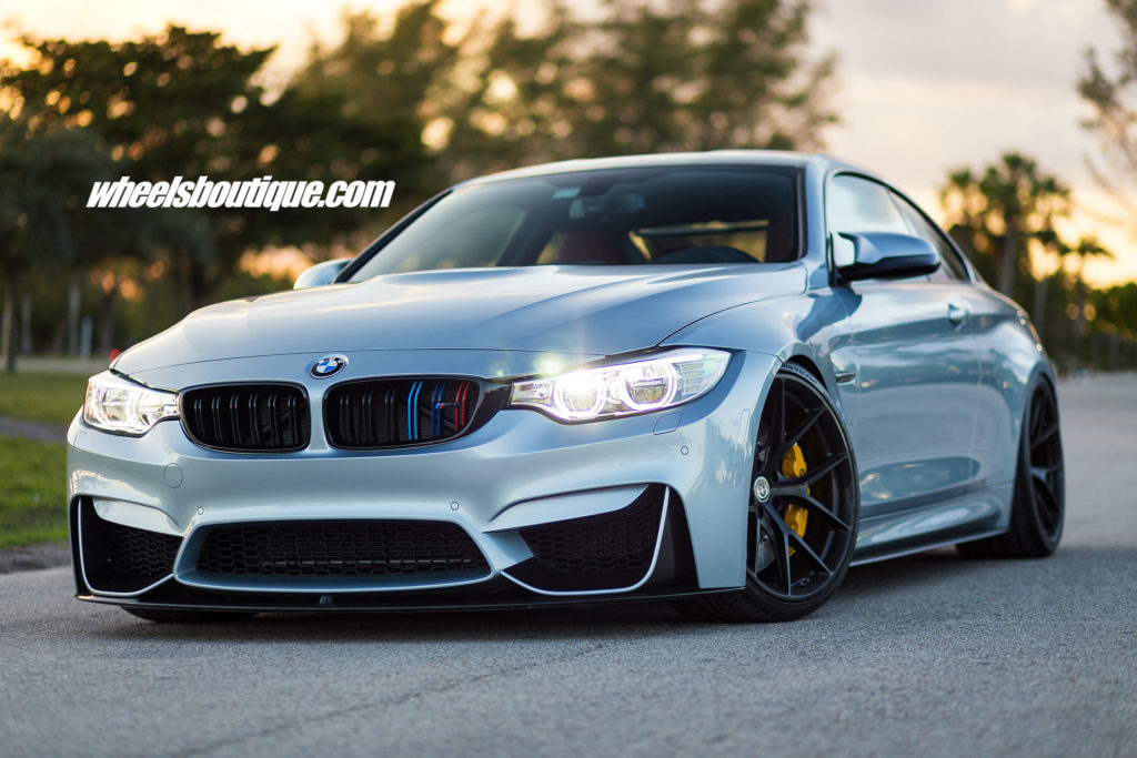 silverstone metallic ii bmw m4 with hre p101 wheels by wheels boutique. Black Bedroom Furniture Sets. Home Design Ideas