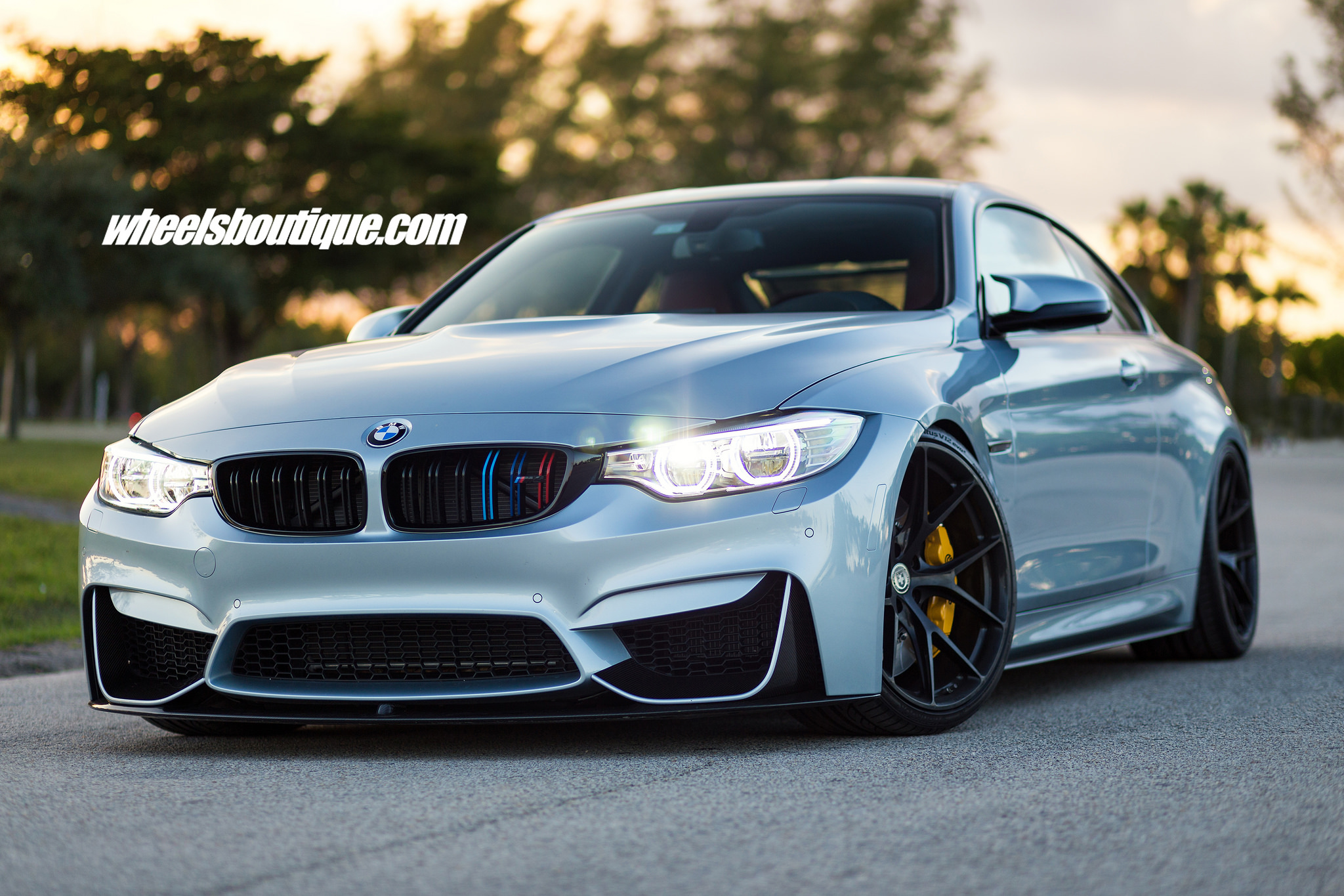 BMW M4 With HRE P101 Wheels By Wheels Boutique 2