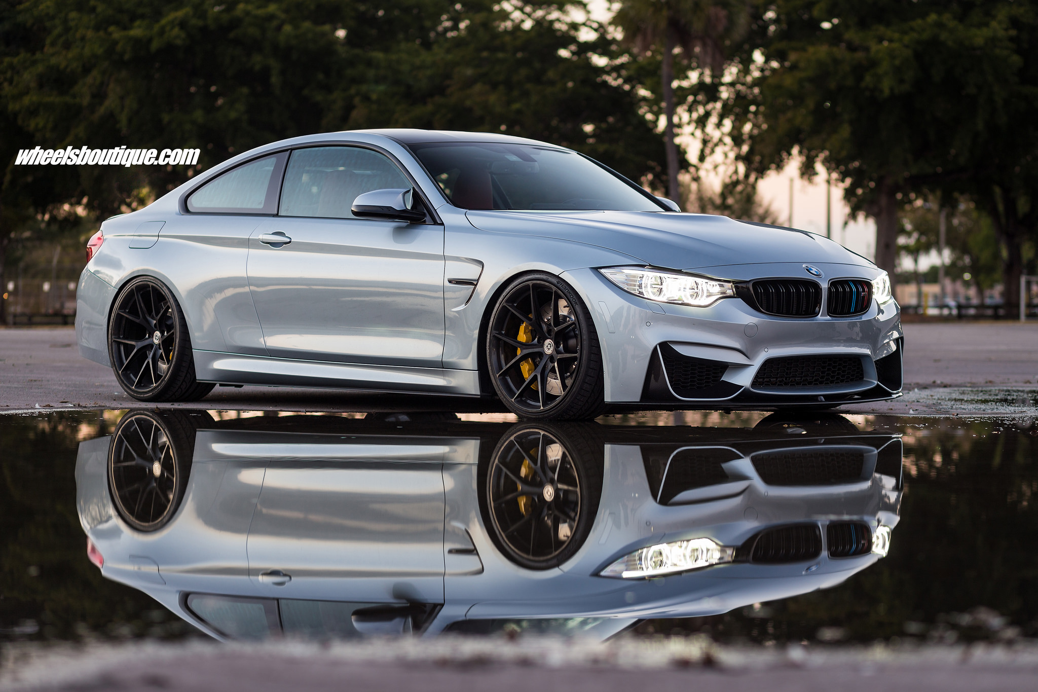 Silverstone Metallic Ii Bmw M4 With Hre P101 Wheels By