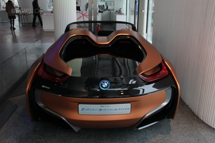 The Bmw I Vision Future Interaction Arrived At Bmw Lenchbachplatz