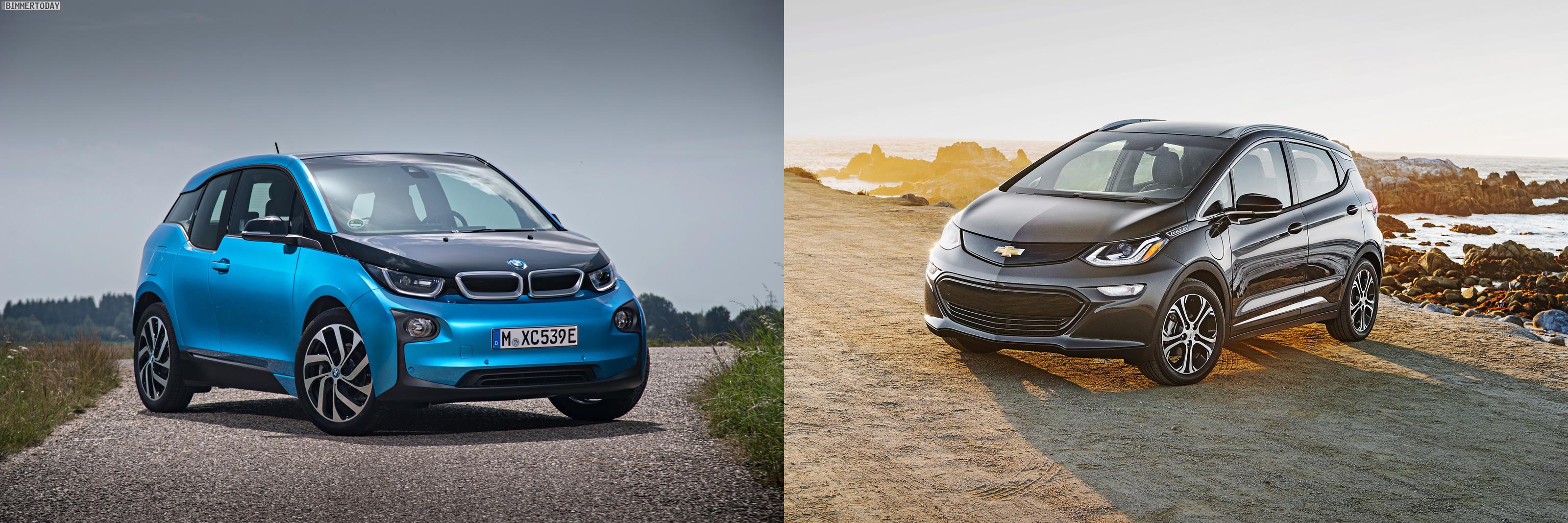BMW i3 Chevy Bolt comparison