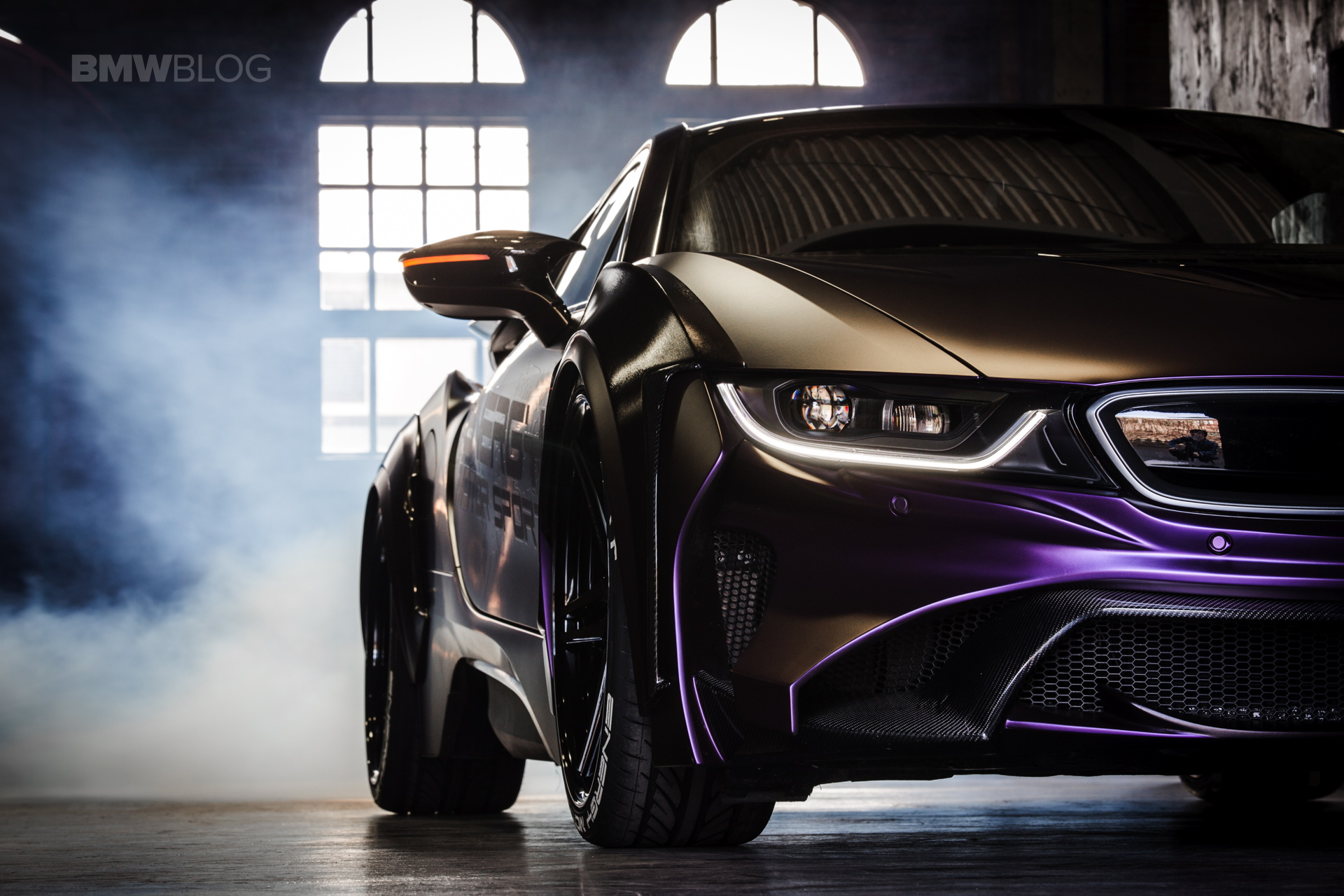 Bmw Evo I8 Dark Knight Edition Is The Batmobile We All Want