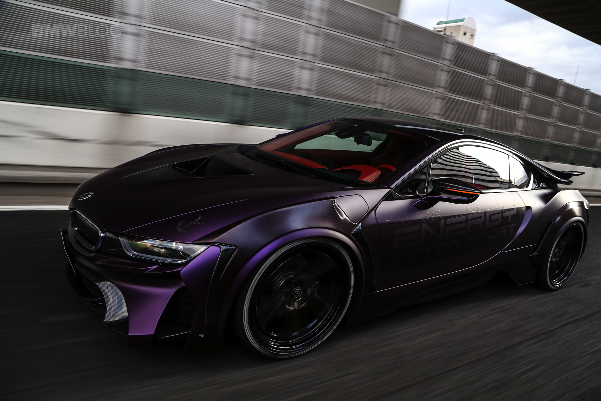 """Toyota Supra Red >> BMW EVO i8 """"Dark Knight"""" Edition is the Batmobile we all want"""