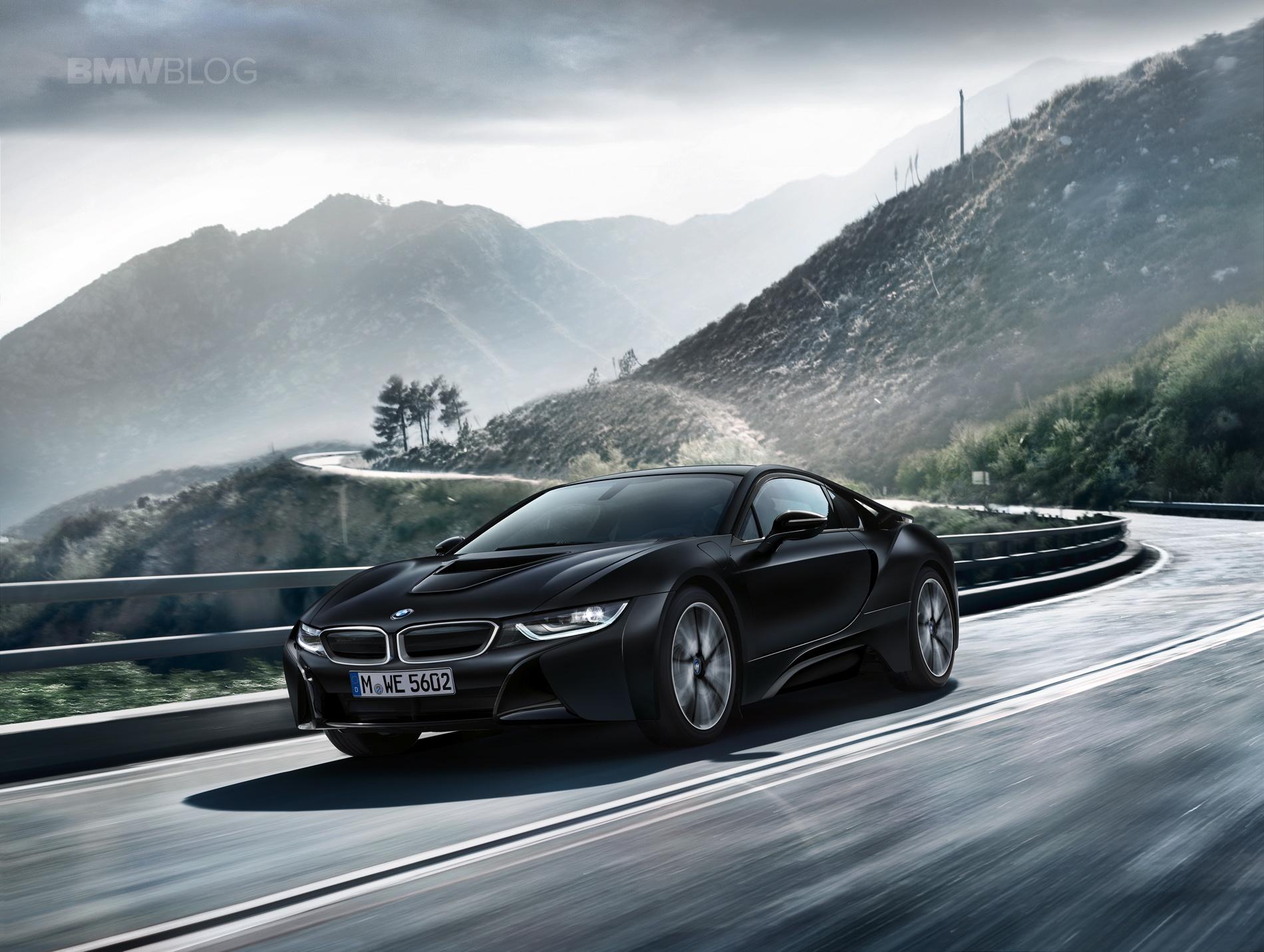 BMW i8 Protonic Frozen Black Edition 09