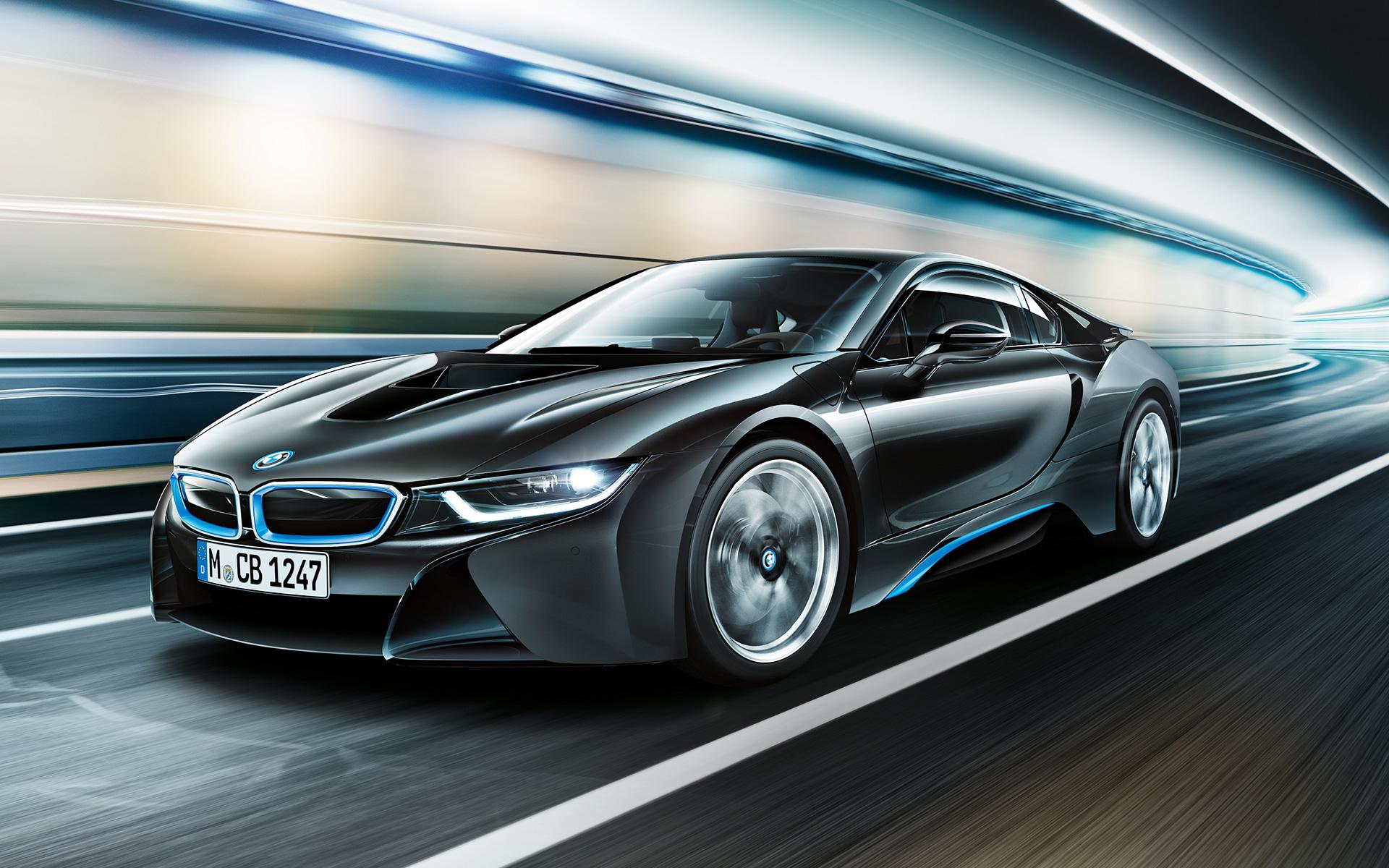 BMW i8 Protonic Frozen Black wallpaper04
