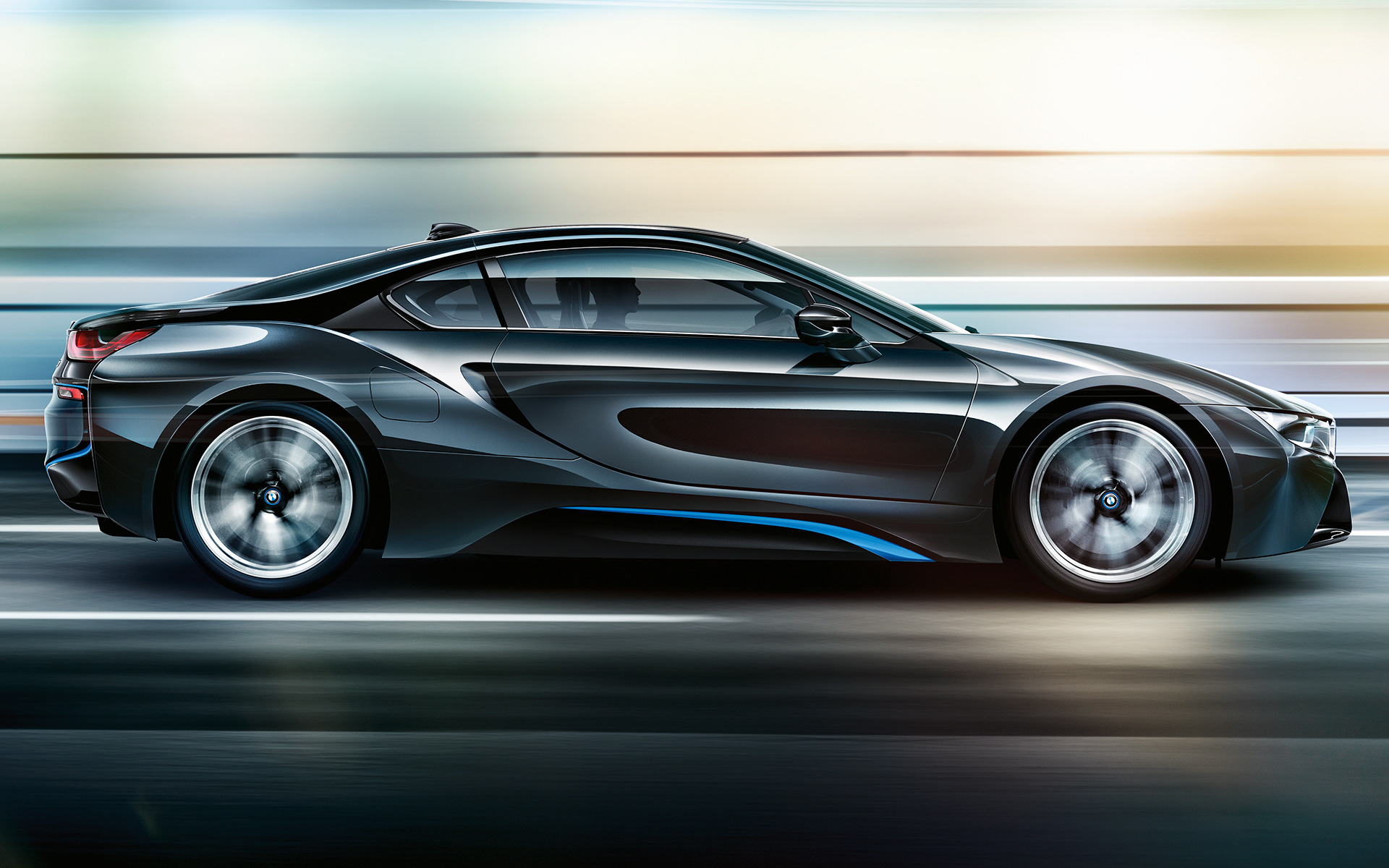BMW i8 Protonic Frozen Black wallpaper06