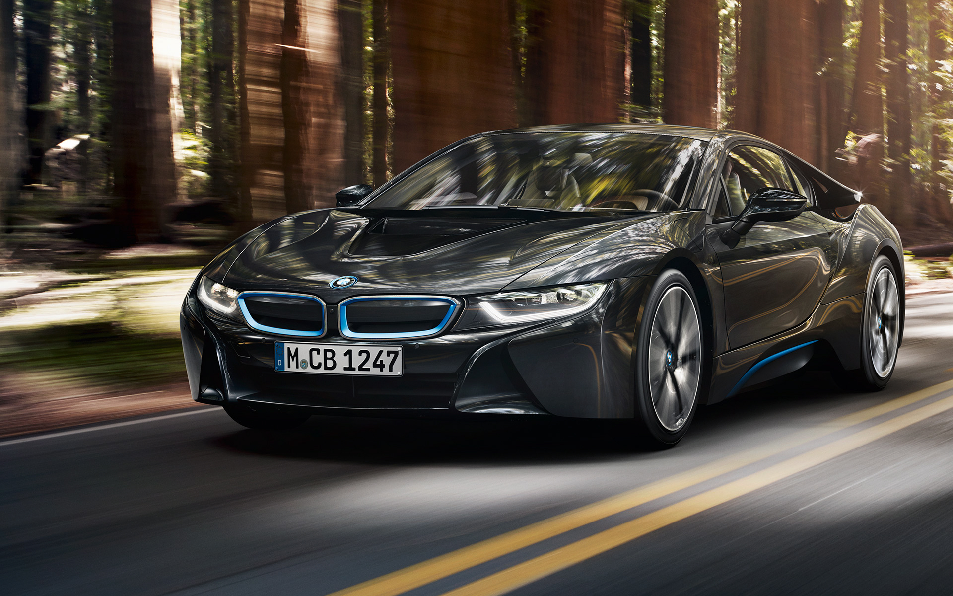 BMW i8 Protonic Frozen Black wallpaper14