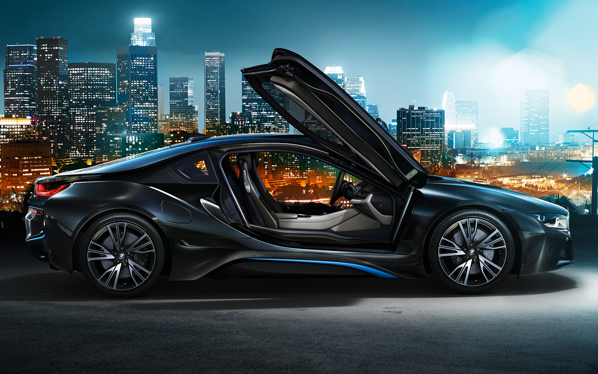 View Green Bmw I8 Wallpaper  Images