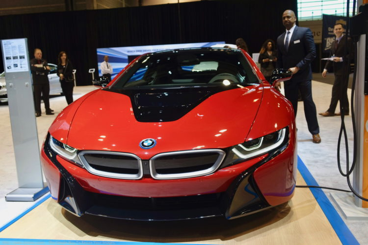 BMW i8 Protonic Red Chicago Auto Show 2017 06 750x500