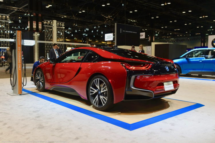 BMW i8 Protonic Red Chicago Auto Show 2017 11 750x500