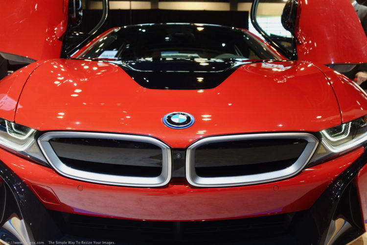 BMW i8 Protonic Red Chicago Auto Show 2017 17 750x500
