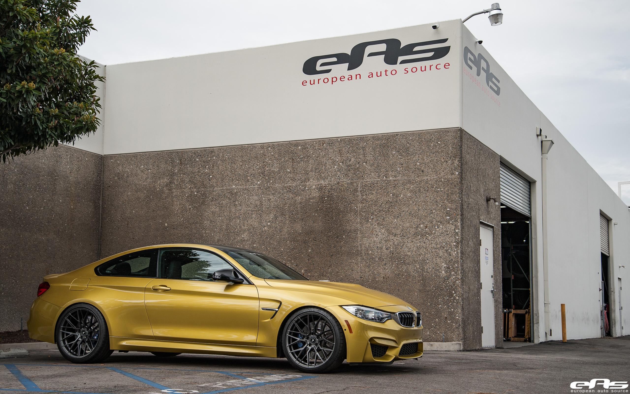 Beautiful Austin Yellow BMW M4 Gets Vorsteiner V FF 107 Forged Wheels 10