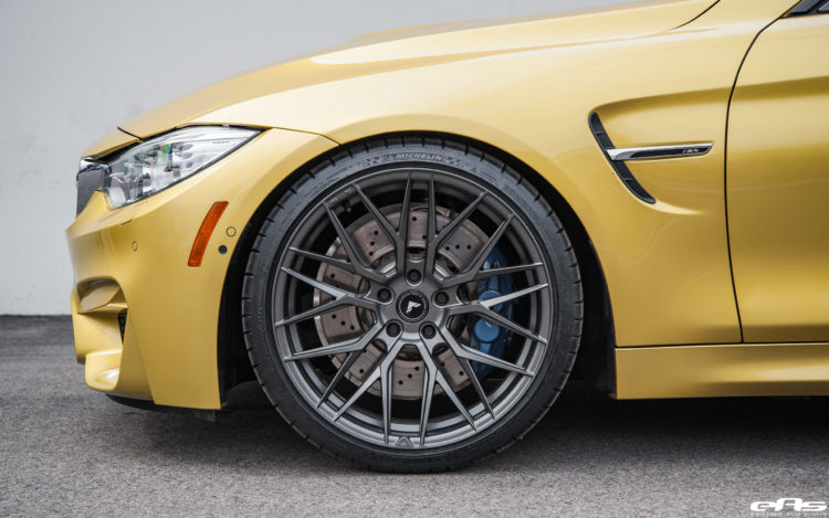 Beautiful Austin Yellow BMW M4 Gets Vorsteiner V FF 107 Forged Wheels 2 750x469