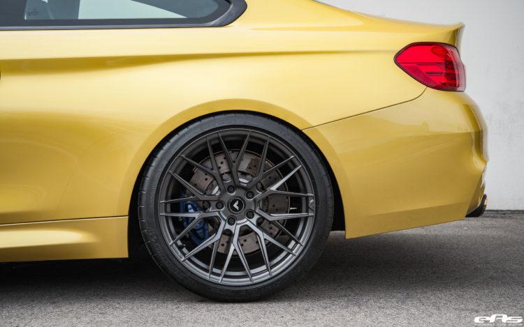 Beautiful Austin Yellow BMW M4 Gets Vorsteiner V FF 107 Forged Wheels 3 750x469