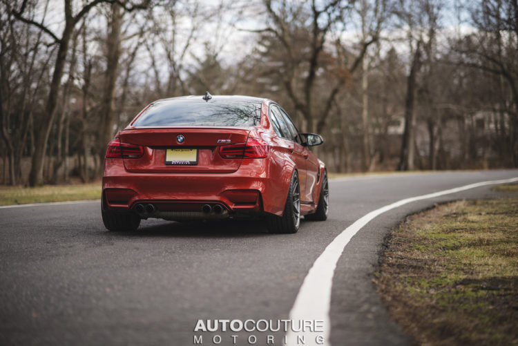 Sakhir Orange BMW M3