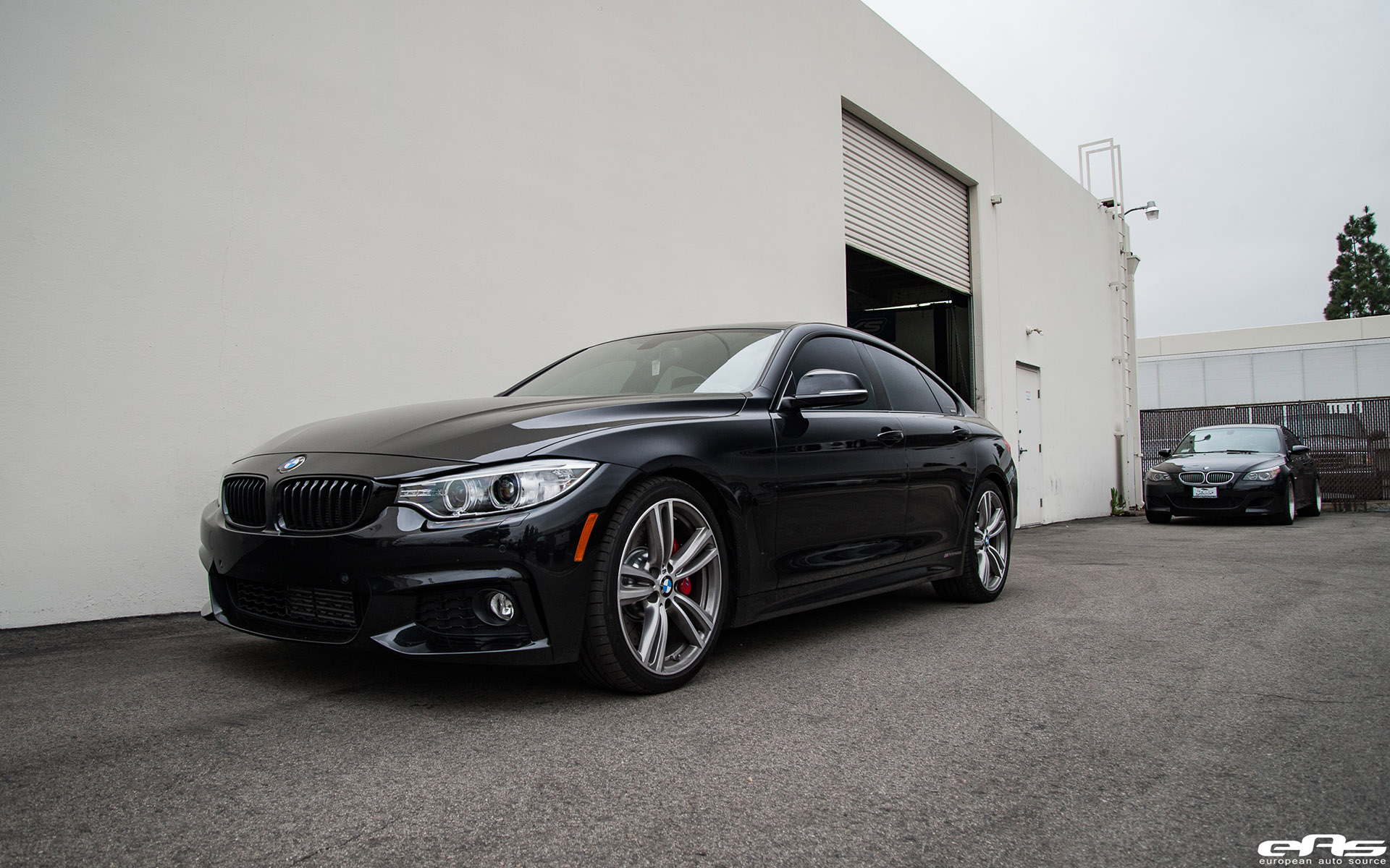 Black Sapphire Metallic 435i Gran Coupe Gets A Brake Upgrade 17