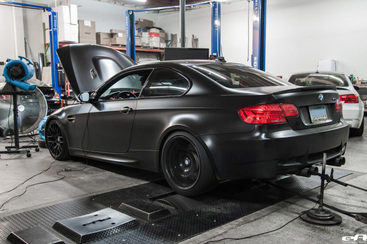 Matte Black BMW E92 M3 Supercharged Project By European Auto Source 14 750x500