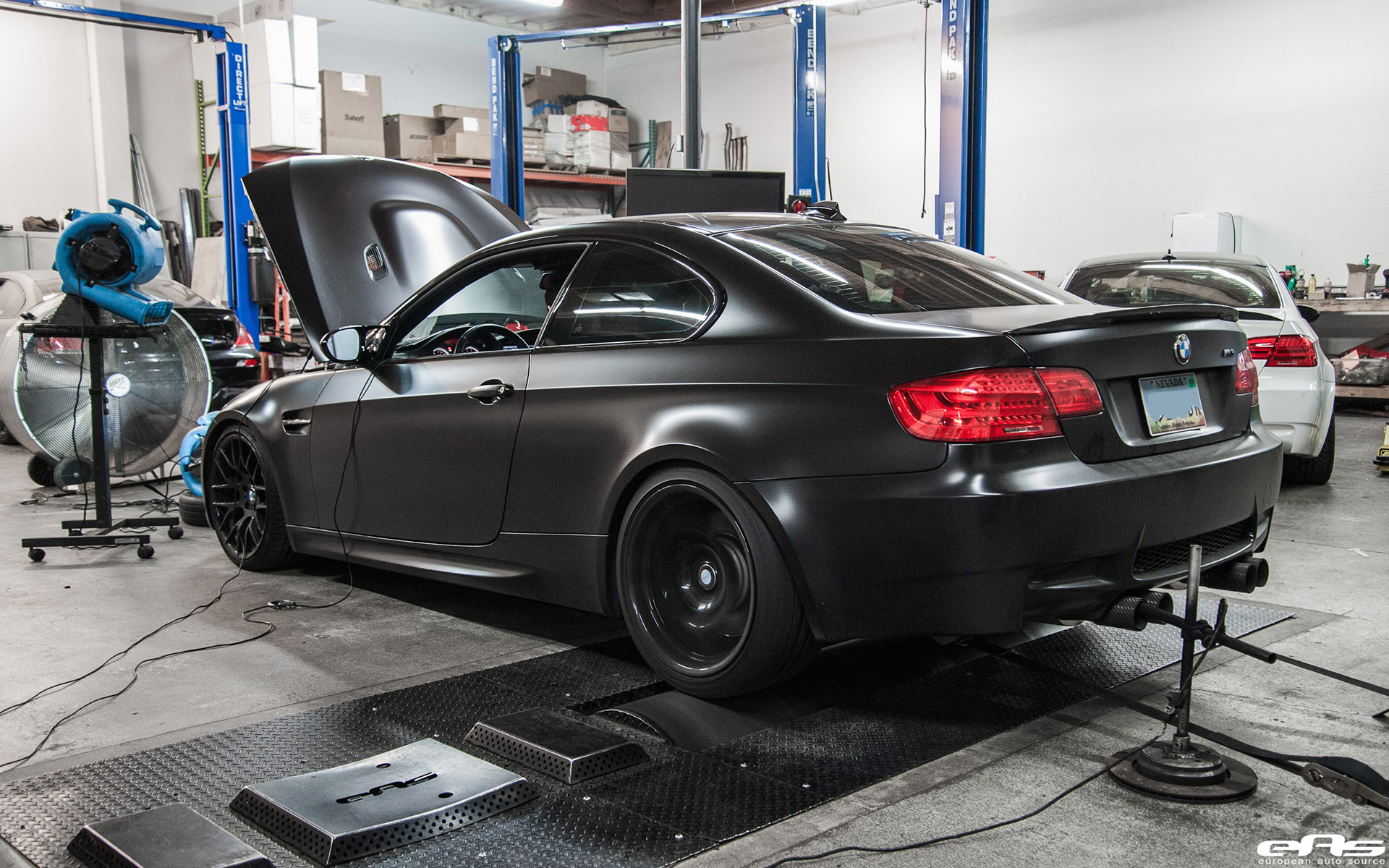 Matte Black BMW E92 M3 Supercharged Project By European Auto Source 14