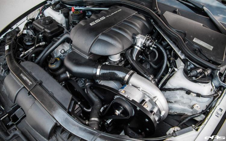 Matte Black BMW E92 M3