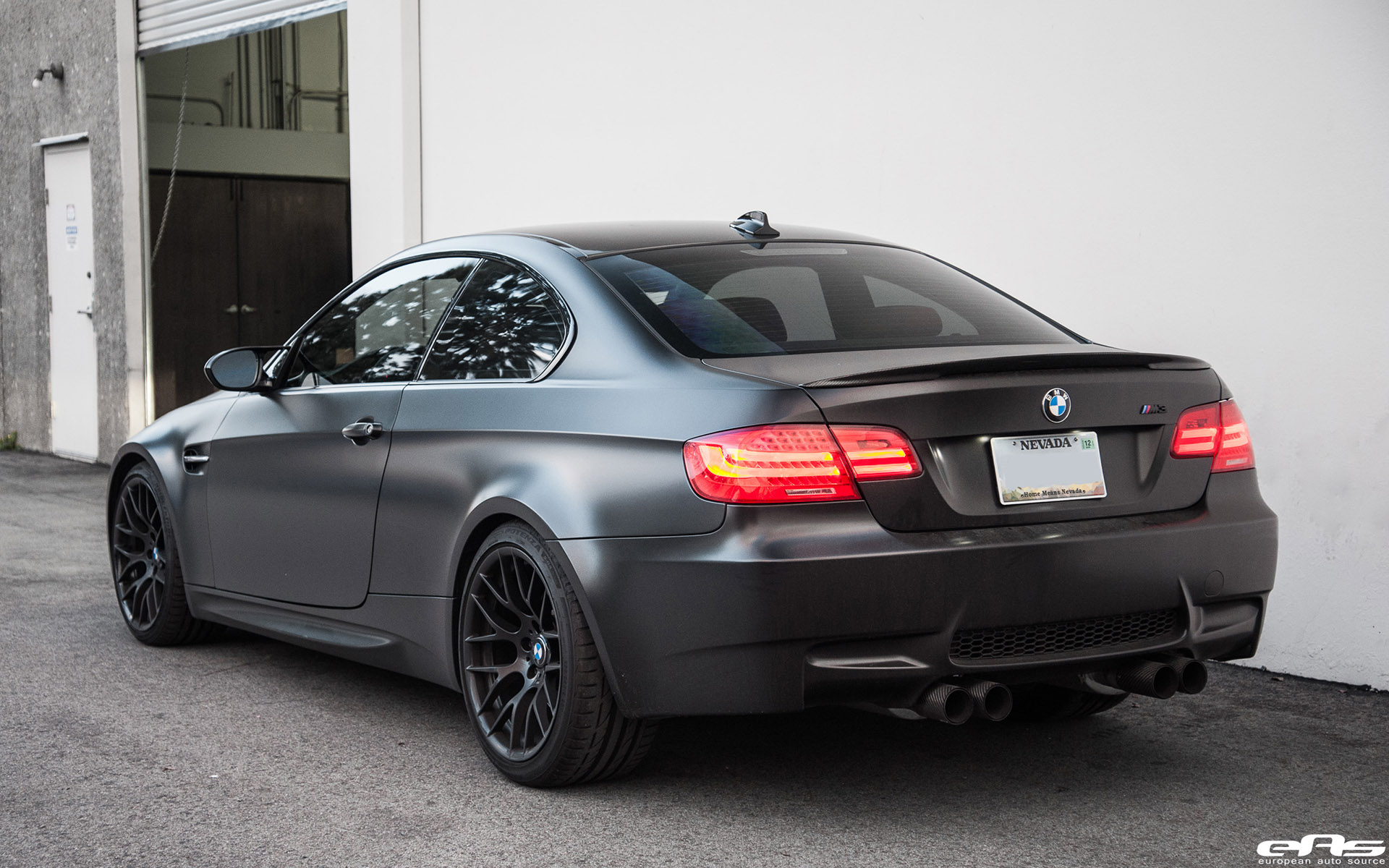 Matte Black BMW E92 M3 Supercharged Project By European ...
