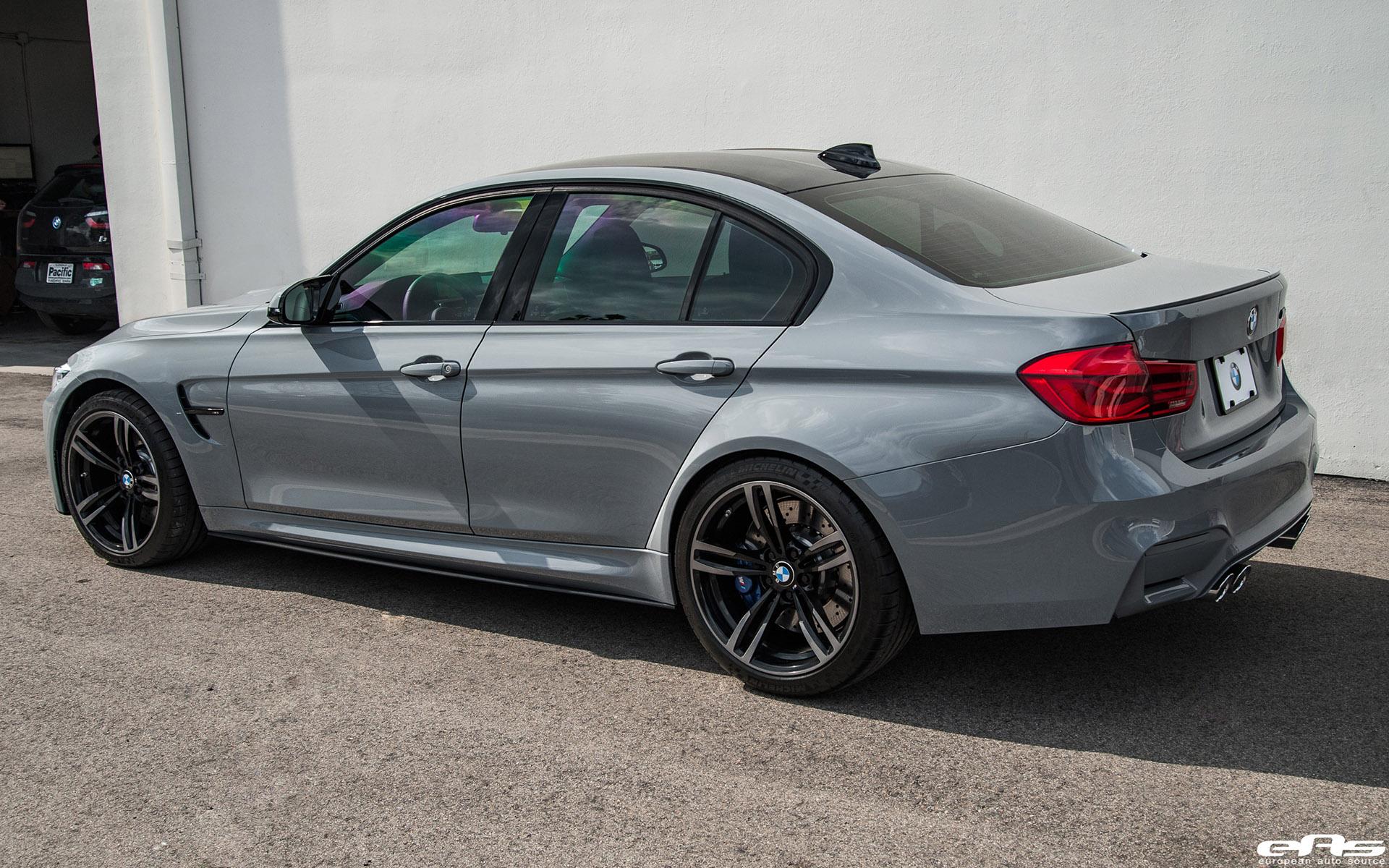 Bmw Aftermarket Parts >> Nardo Gray BMW F80 M3 Gets Aftermarket Upgrades