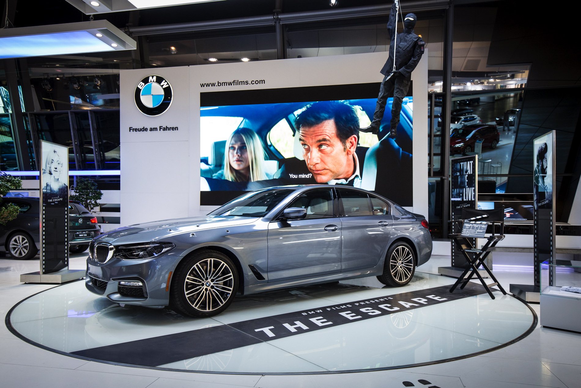 A Special Display On Bmw Films In Now Available At Bmw Welt
