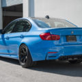 Yas Marina Blue BMW M3 With M Performance Goodie