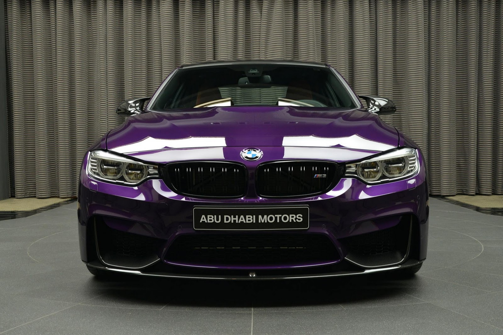 Bmw M3 In Twilight Purple Looks Stunning