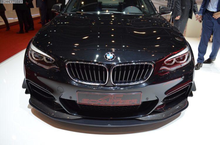 2017 AC Schnitzer ACL2S BMW M240i F22 Tuning Genf Live 03 750x497