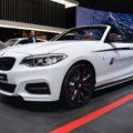 2017 BMW 2er Cabrio F23 M240i M Performance Parts Genf Live 01 120x120