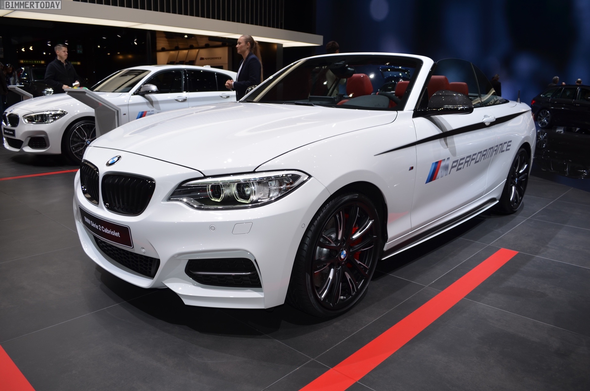 Bmw M Performance Tuned M240i Convertible At Geneva